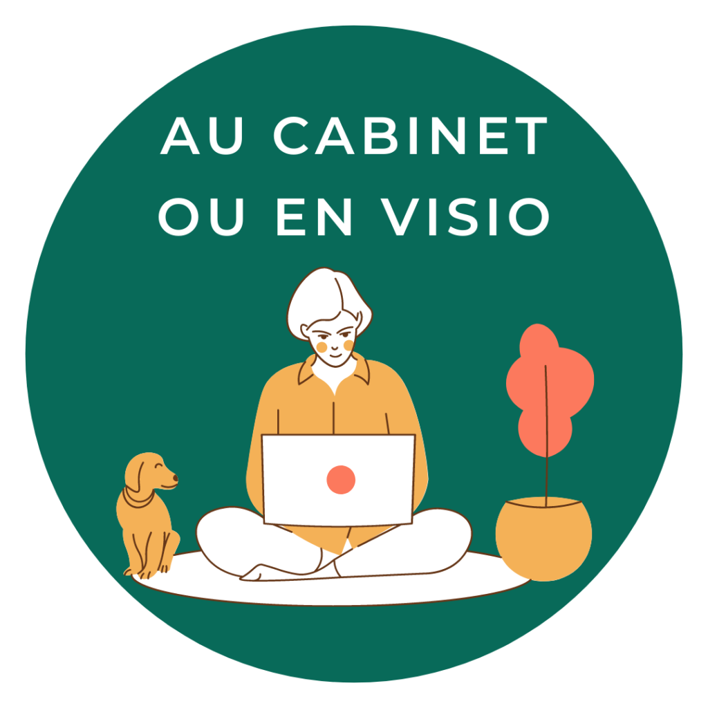 Au cabinet ou en visio